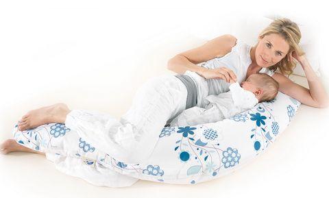 фото как пользоваться подушкой для кормления