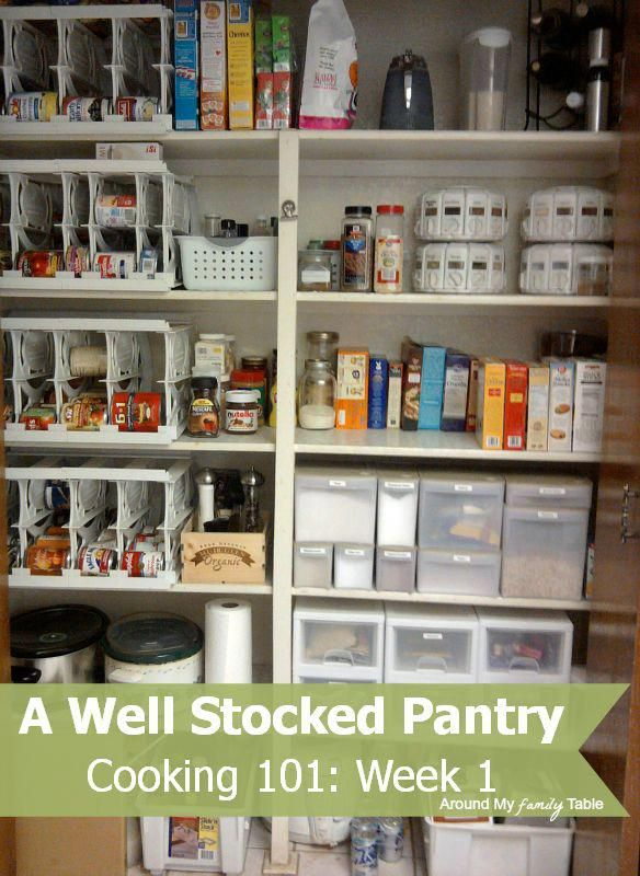 Well Stocked Pantry Cooking 101 Basics Week 1 Cl Cookingcles