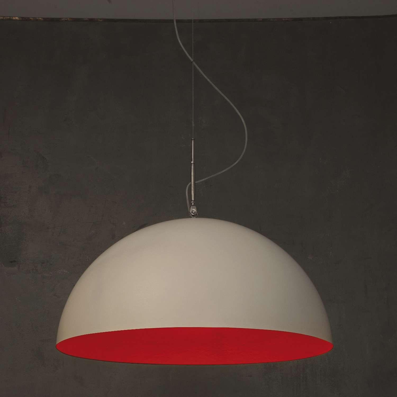 Mezza luna pendant light pendant lighting dining room table and