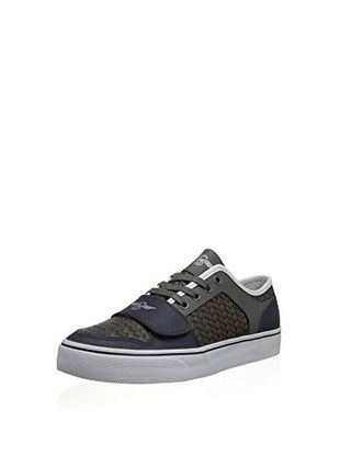Creative Recreation Men's Cesario Lo Xvi Low-Top Sneaker (Black/Charcoal/Navy)