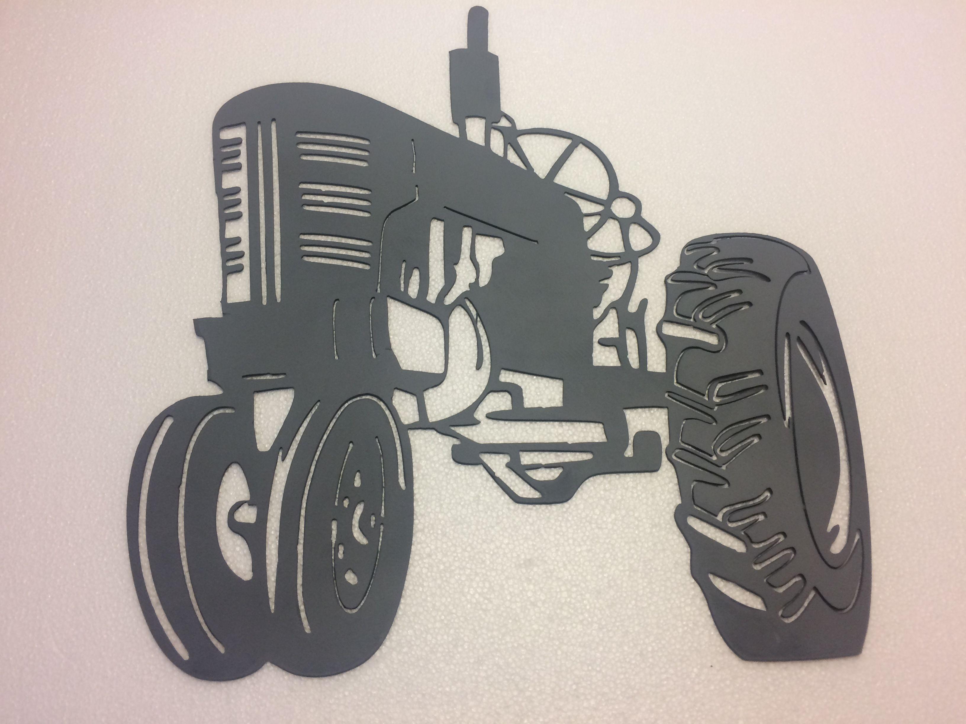Tractor plasma art Metal art, Celine luggage bag, Celine