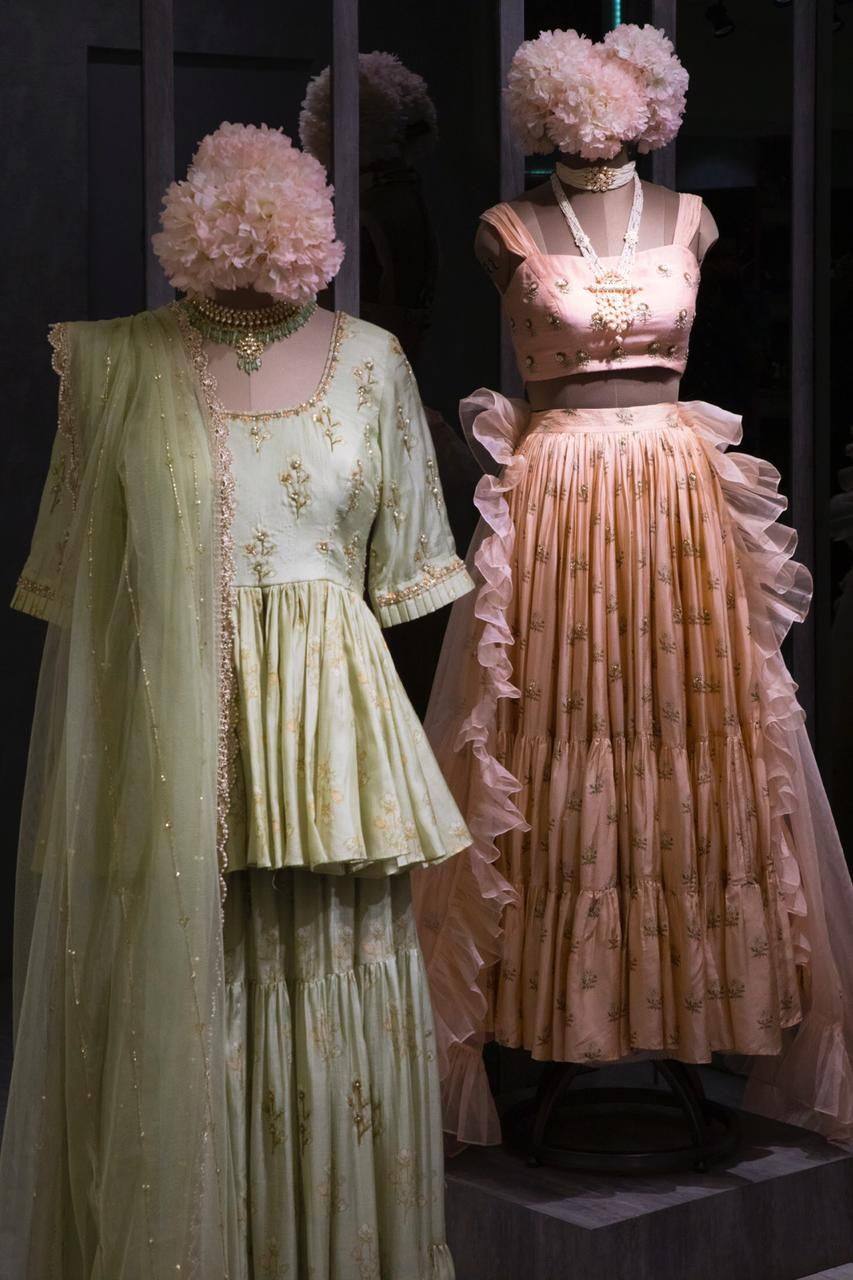 In Store Now The Latest Paulmi Harsh Collection At Pernia S Pop Up Studio Bandra Bring The Best Of Both Worlds P Indian Dresses Clothes Design Bridal Wear