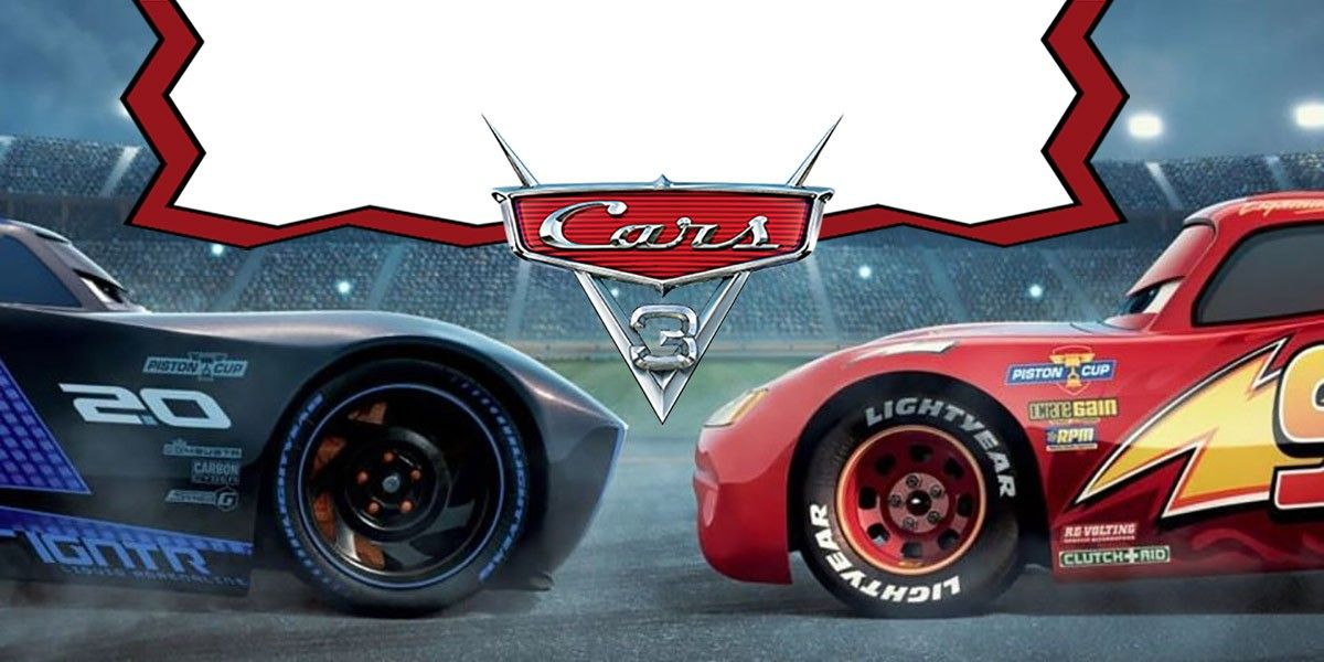 Cars 3 Birthday Party Invitation