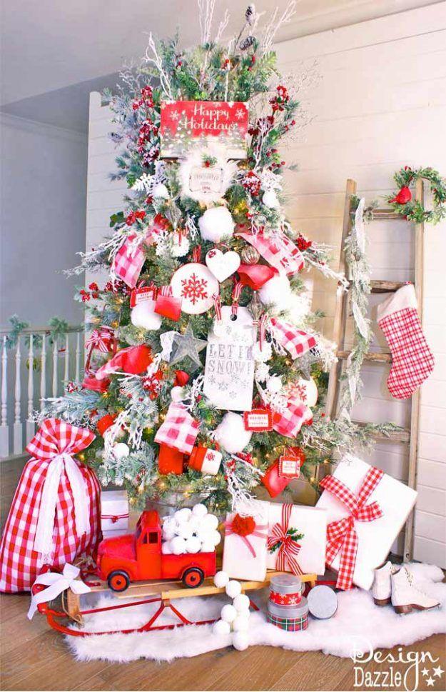 Fun Christmas Tree Decorating Ideas Part - 40: Christmas Tree Decorating Ideas: Bloggers BEST Ideas
