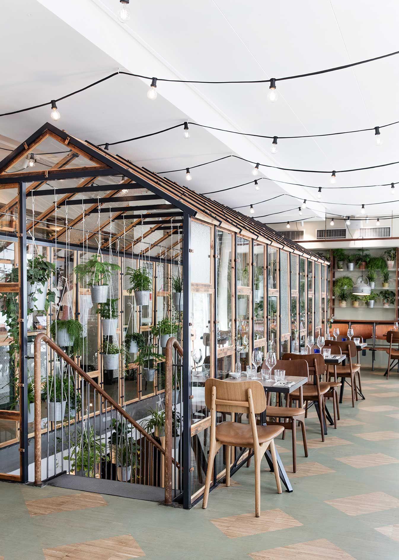 Danish Design Studio Genbyg Has Created An Indoor Greenhouse For A Nordic Restaurant In Copenhagen Called Vkst