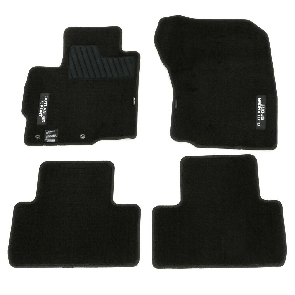 OEM NEW Mitsubishi (4) Piece Carpet Floor Mats 1419