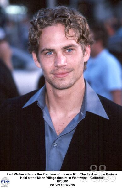 Paul at The Fast and Furious premiere