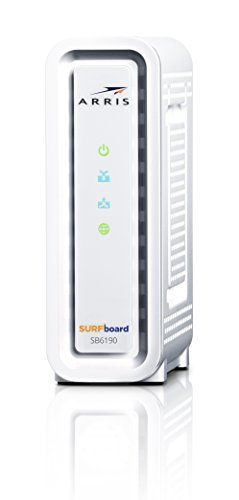 Arris Surfboard Sb6190 Docsis 3 0 Cable Modem Retail Packaging White Building Upon The Success Of The Sb6121 Sb6141 And Sb6183 A Cable Modem Modems Arris