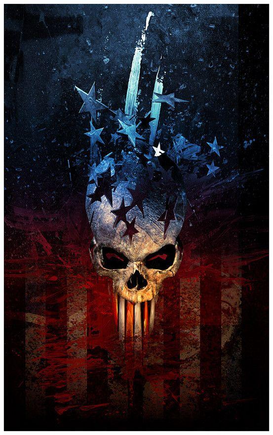 American Skull Skull artwork, Skull wallpaper, Skull art