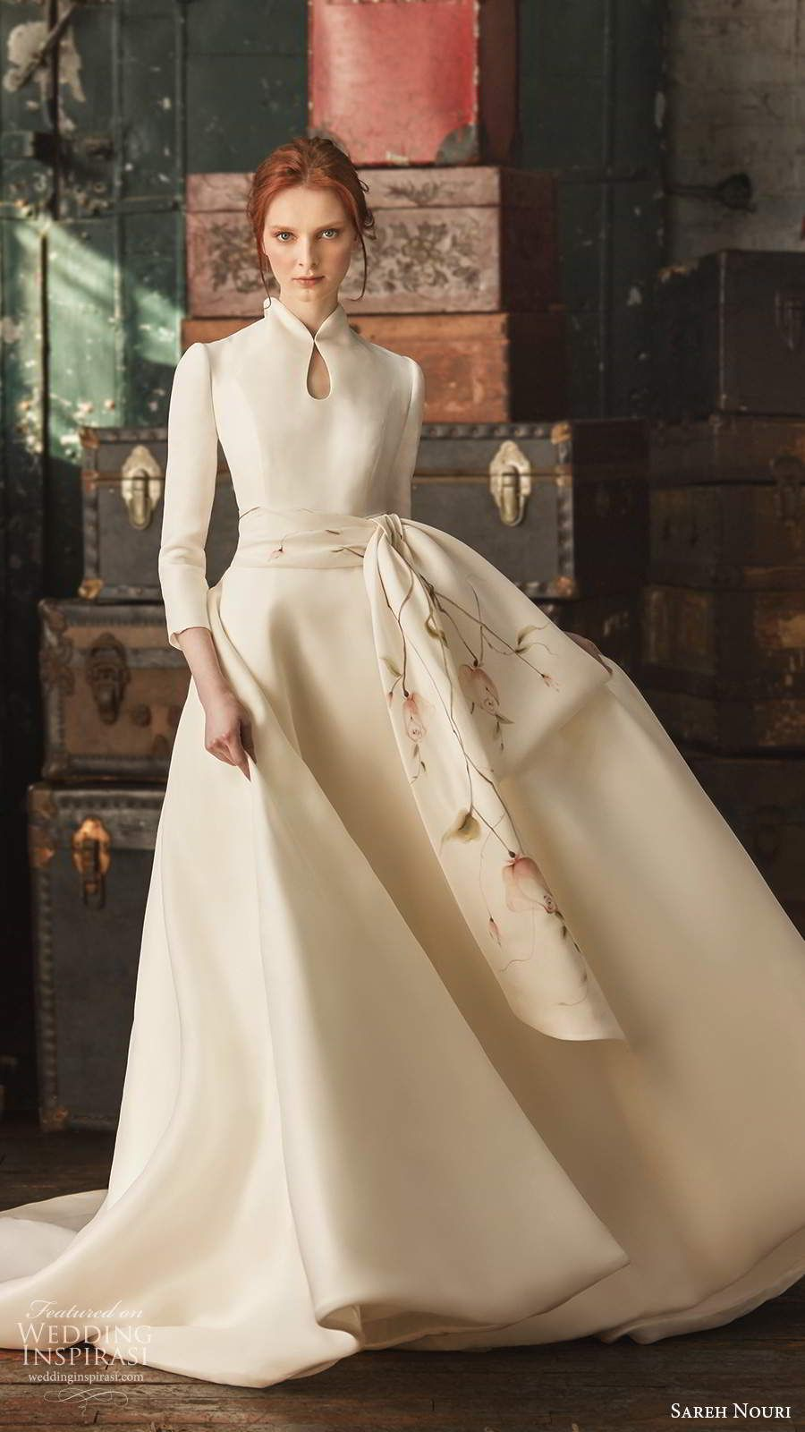 "Sareh Nouri Fall 2020 Wedding Dresses — ""French Romance"