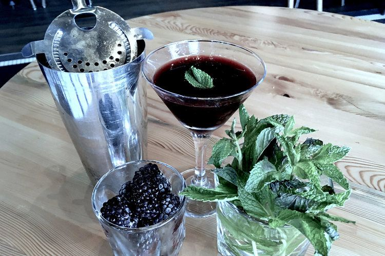 These All-Black Cocktails Are the New Black, and Here's How to Make One