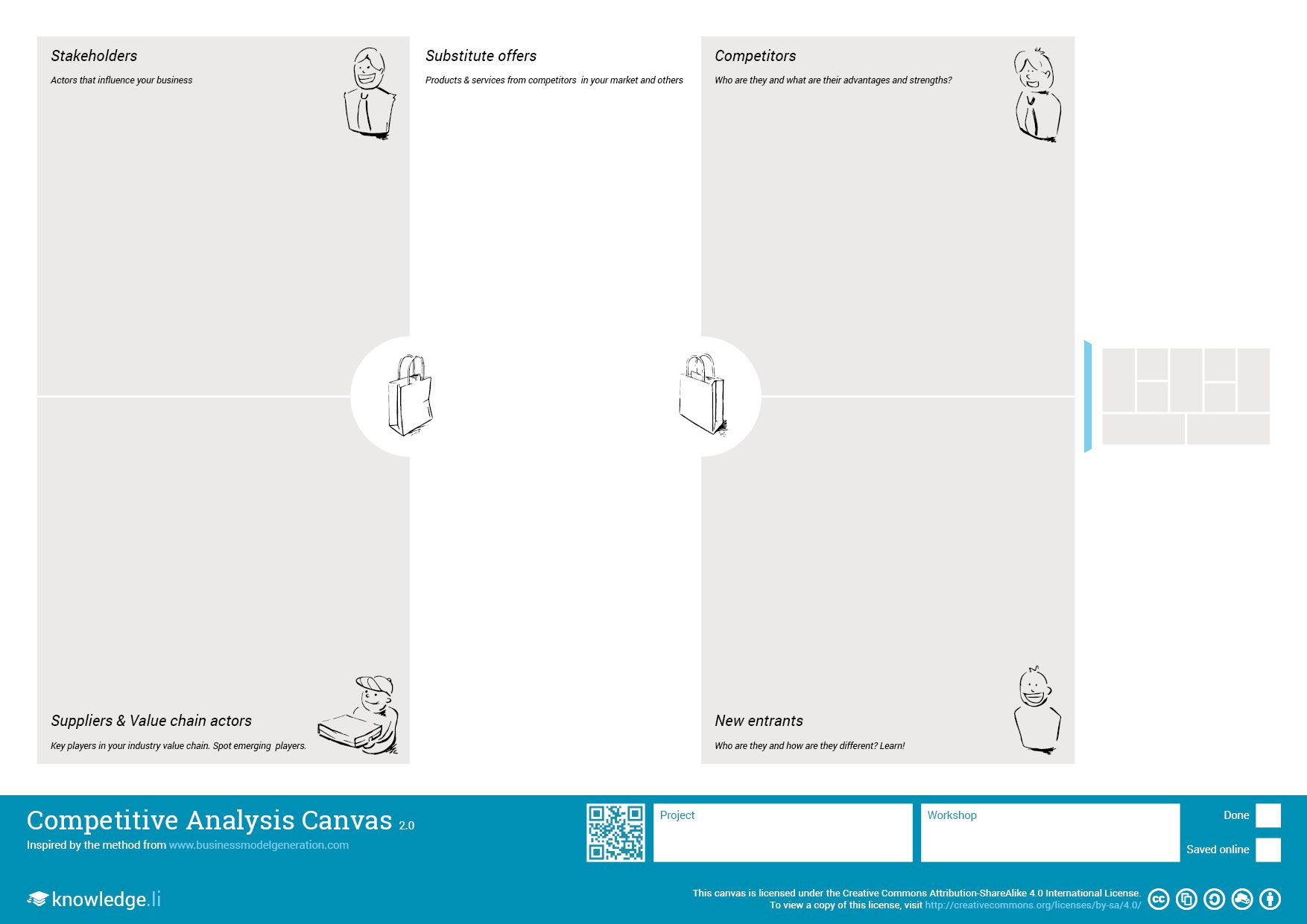 Competitive Analysis Canvas  Plot Your Competitors And