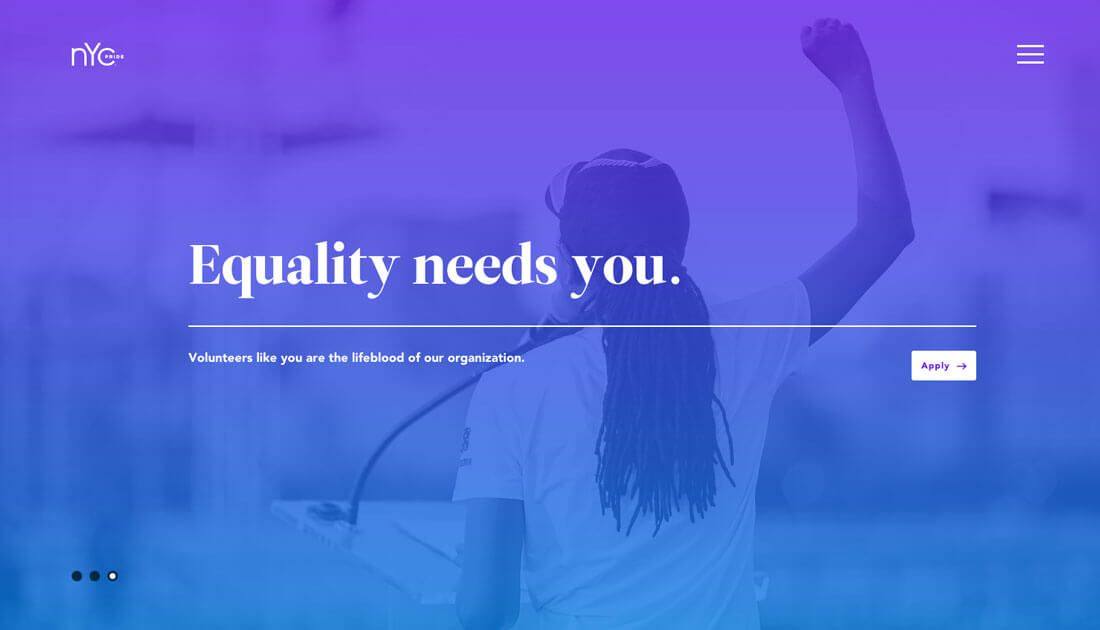 How To Make Color Overlays Work In Your Design Image Overlay Website Design Gradient