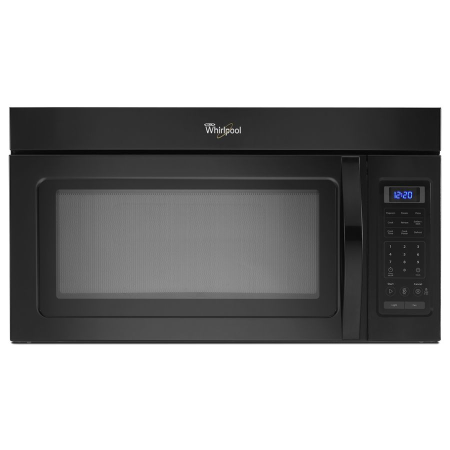 Whirlpool Ft Over The Range Microwave With Sensor Cooking Controls Black Common Actual At Lowe S Healthy On Go Is Easier Than Ever