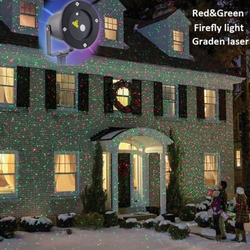 Outdoor Laser Projector Dj Disco Light Stage Lighting Show Xmas Party Club Decor Christmas Light Projector Christmas Projector Outdoor Christmas