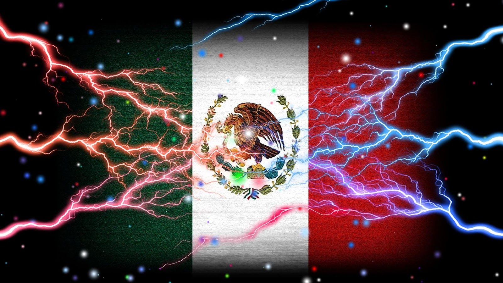 Mexico Flag Wallpaper screenshot Custom license plate