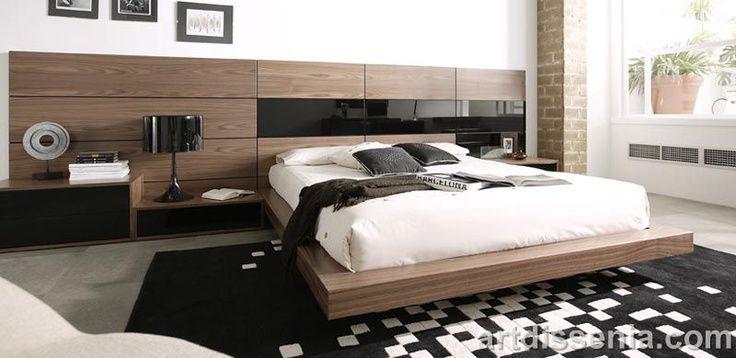 decoracion de habitaciones modernas matrimoniales - Buscar con - recamaras de madera modernas