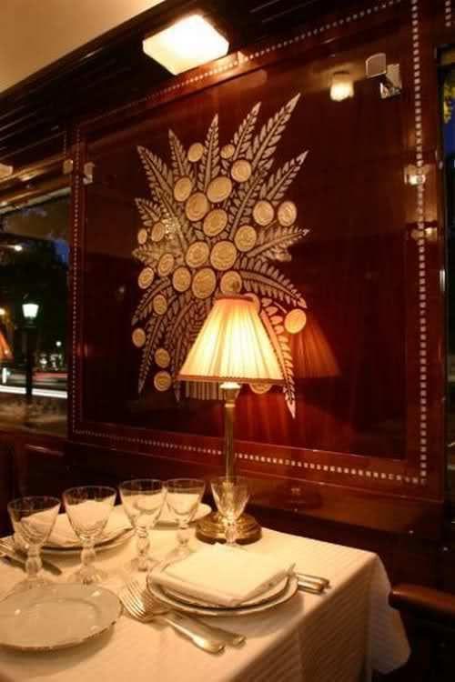 ♔ L\'Orient Express ~ Artwork by the French designer René Prou ...