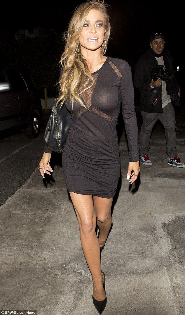 dress in Carmen electra sexy