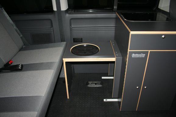 custom bus vw t5 t6 camping vans mobile homes campers. Black Bedroom Furniture Sets. Home Design Ideas