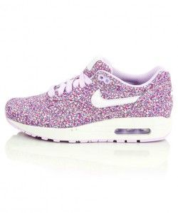 new style 76b7b 83ddd Opinion Nike Air Max 1 Premium Liberty Of London Floral (Florale) Pepper  Print Chaussure de course Femme Pourpre Pas Cher