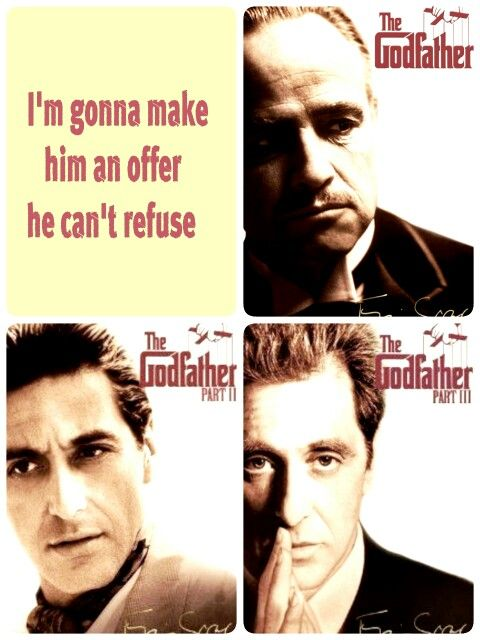 "Día 65... ""Leave the gun, take the cannoli"" ♡ Maratón The Godfather #100happydays"