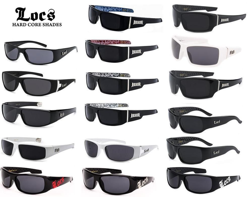 2e715052245 LOCS Sunglasses OG Original Gangster Hardcore Shades Cholo Biker Glasses