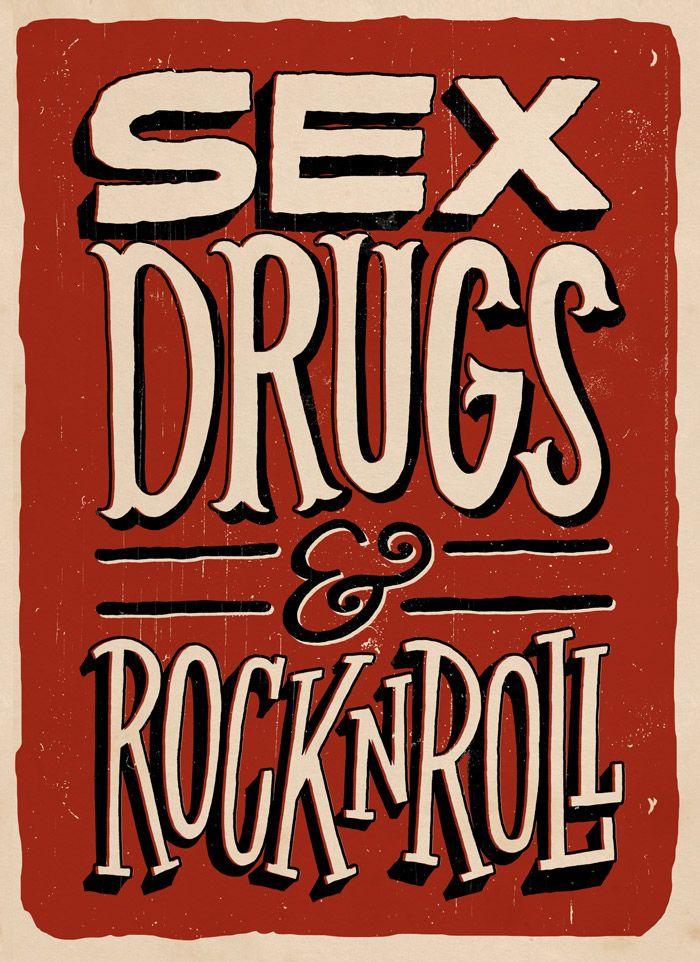 Saliva sex drugs rockn roll