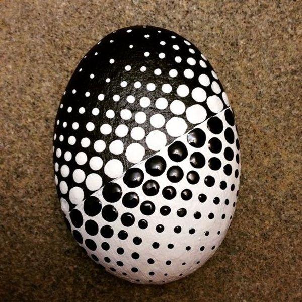 40 Diy Mandala Stone Patterns To Copy Rock Crafts Painted Rocks