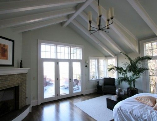 Paint Beams White Walls And Ceiling Same Color B B