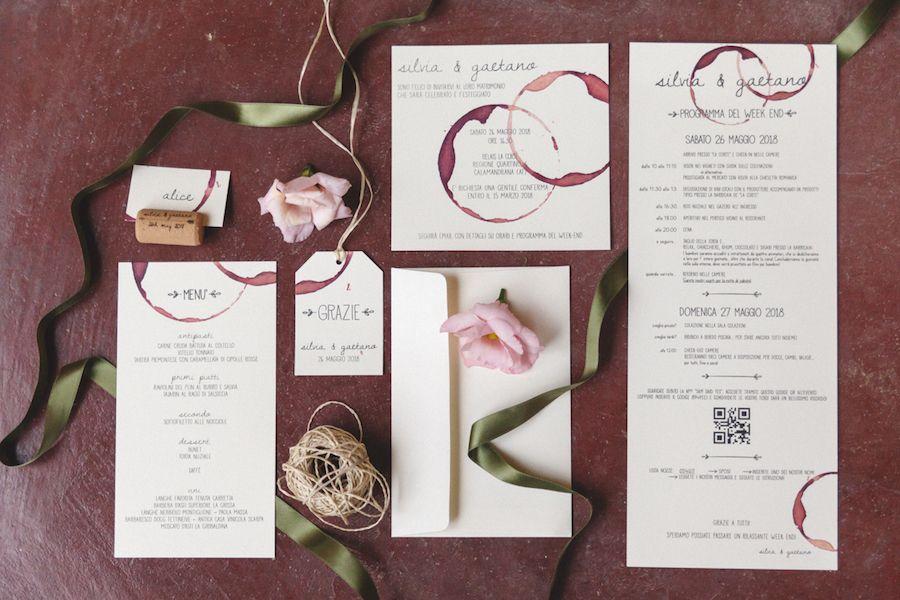 Partecipazioni Matrimonio Tema Vino.Un Matrimonio Boho Chic Ispirato Al Vino Matrimonio A Tema Vino