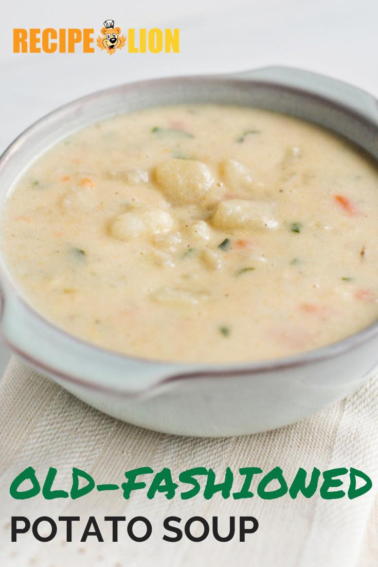 Old Fashioned Cream Of Chicken Soup Recipe