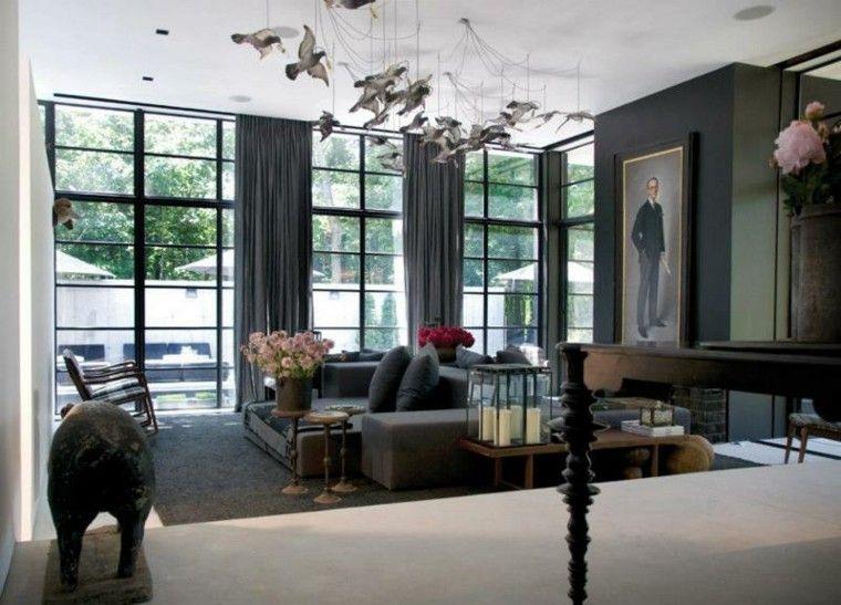 luminaire design et dcoration de salle de sjour contemporaine - Deco Salon Sejour Contemporain