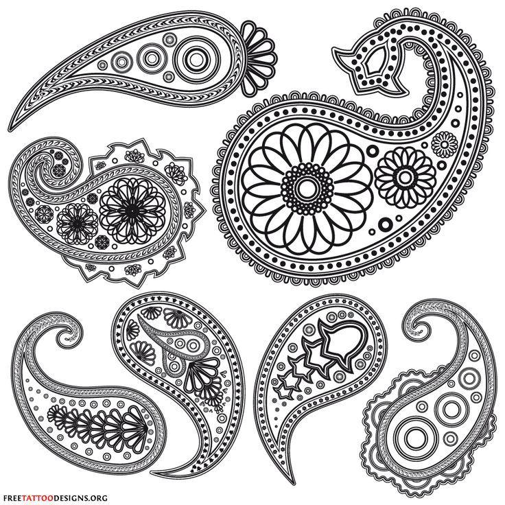 Henna Flower Designs On Paper Underfontanacountryinncom