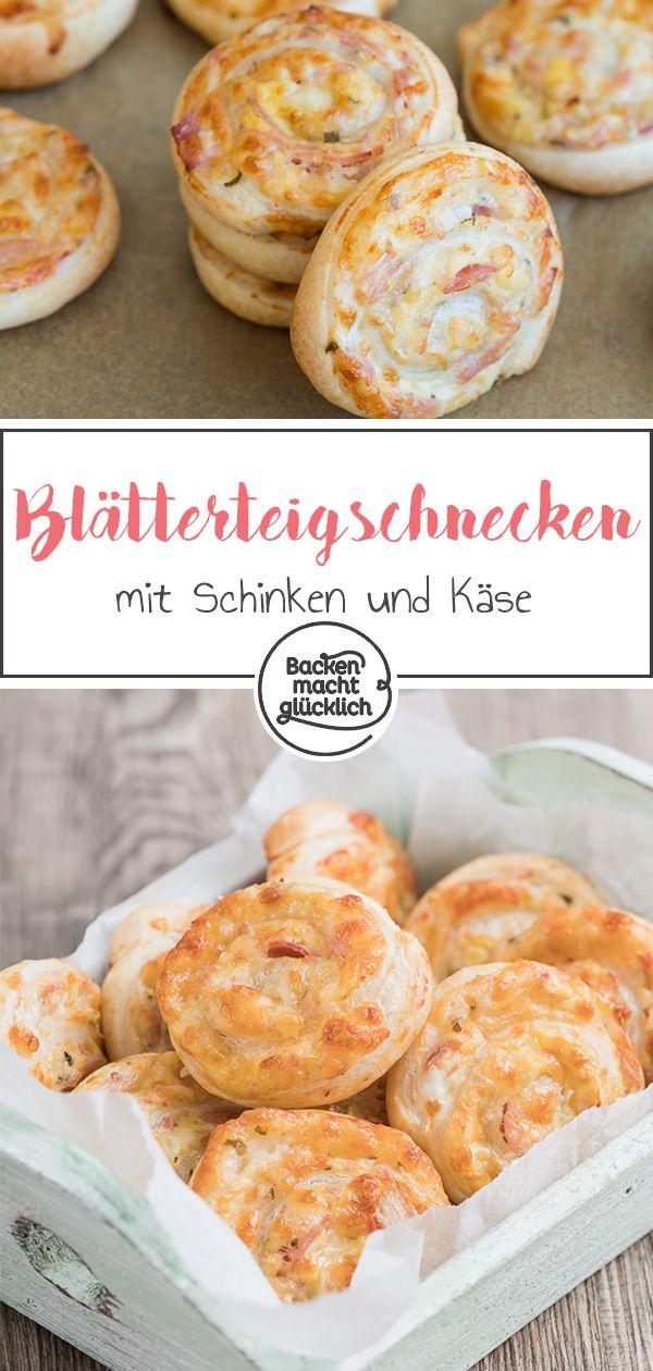 Photo of Blätterteig-Schnecken mit Käse | Backen macht glücklich