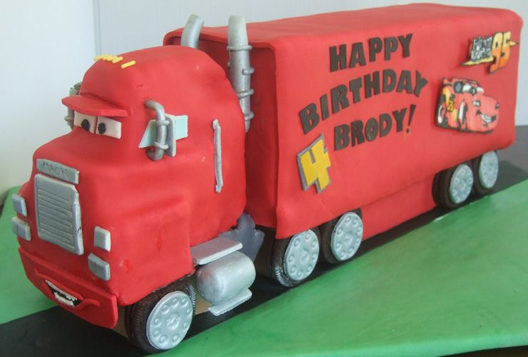 Birthday Cake Ideas For 4 Year Old Boys
