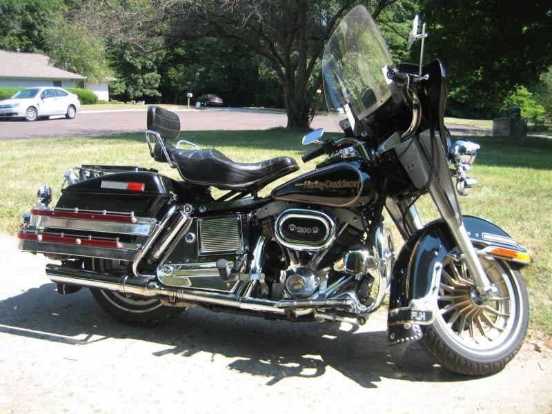 1978 Harley Shovelhead Flh Electra Glide 75th Anniversery Model 1200 Us 5 357 00 Harley Shovelhead Shovelhead Flh Harley