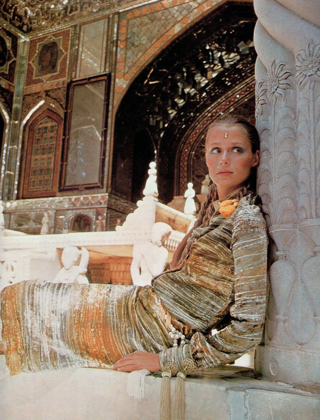1960's Lauren Hutton Morocco
