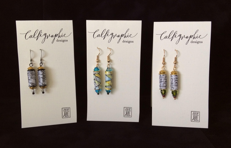 Suzie Beringer's Calligraphic Beads