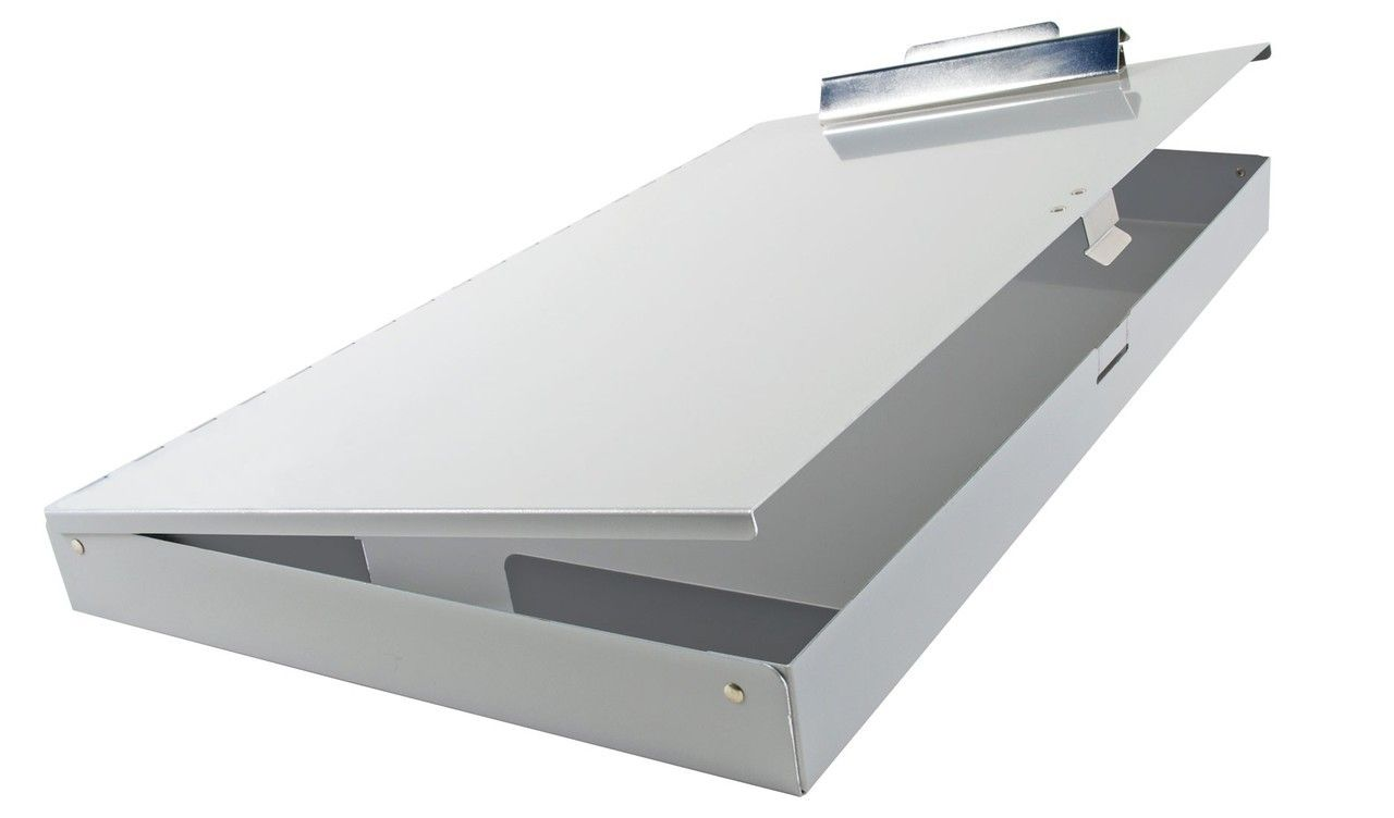 Ruby Paulina 11x17 Aluminum Clipboard With Storage Area Clipboard Aluminum Storage Businesssupplies Offices Clipboard Storage Storage Compartments Storage