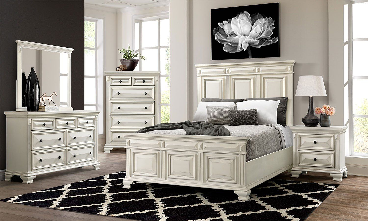 Calloway Bedroom Set White White Bedroom Set White Bedroom