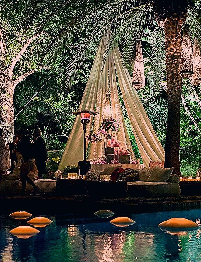 Photo of 20 ideas para decorar tu boda al aire libre – La zona de descanso