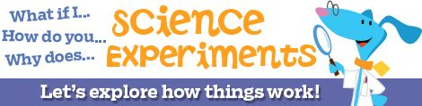 Science experiments and science fair projects