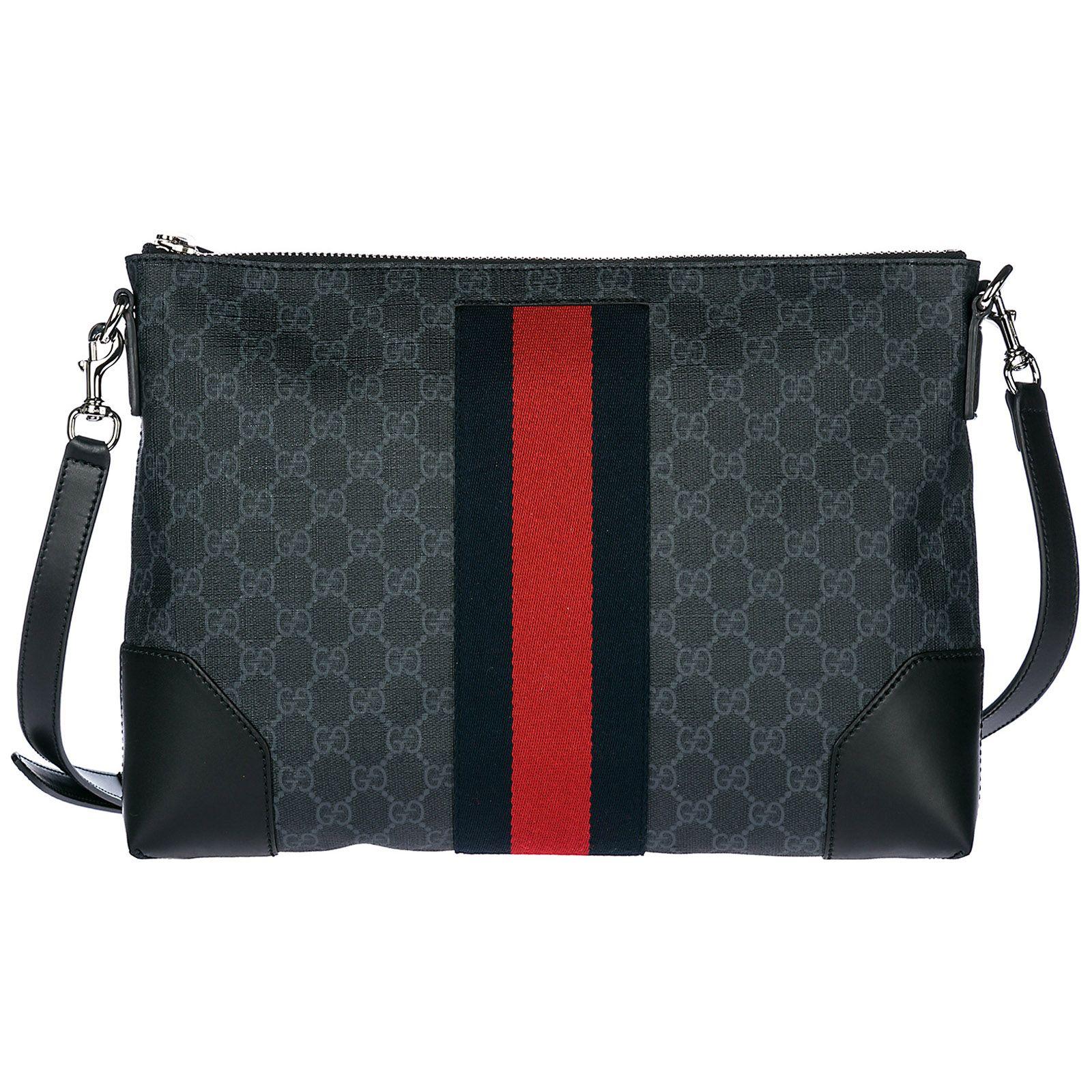 nuovi stili a856a 8c02b Men's cross-body messenger shoulder bag | Gucci, Bags, Gucci men