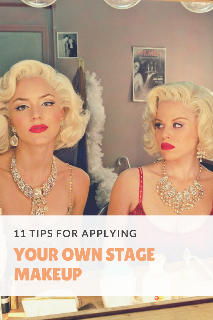 12 Tips For Applying Your Own Stage Makeup - Theatre Nerds  Stage