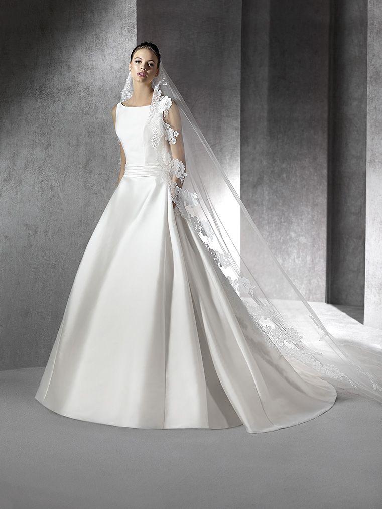 vestido de novia modelo zaine   st. patrick 2016   pronovias fashion