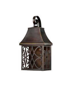 This Dark Sky Collection Outdoor Wall Light Features A New Bronze Finish That Will Complement Many Traditional Decors
