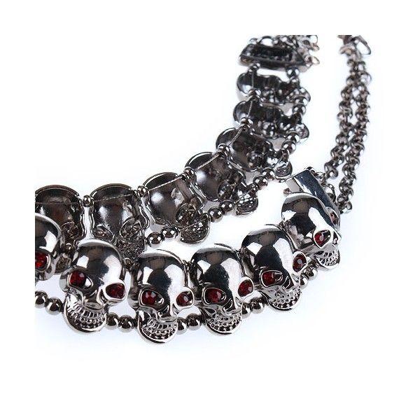 distribuidor mayorista 425d8 04e1b Resultado de imagen para collar calavera hombre | Heavy ...