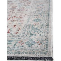 Photo of benuta Trends flat woven carpet Ian Gray / Blue 200×240 cm – vintage carpet in Used-Lookbenuta.de