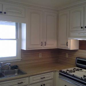 Foil Wrapped Kitchen Cabinet Doors | http://triptonowhere.us ...